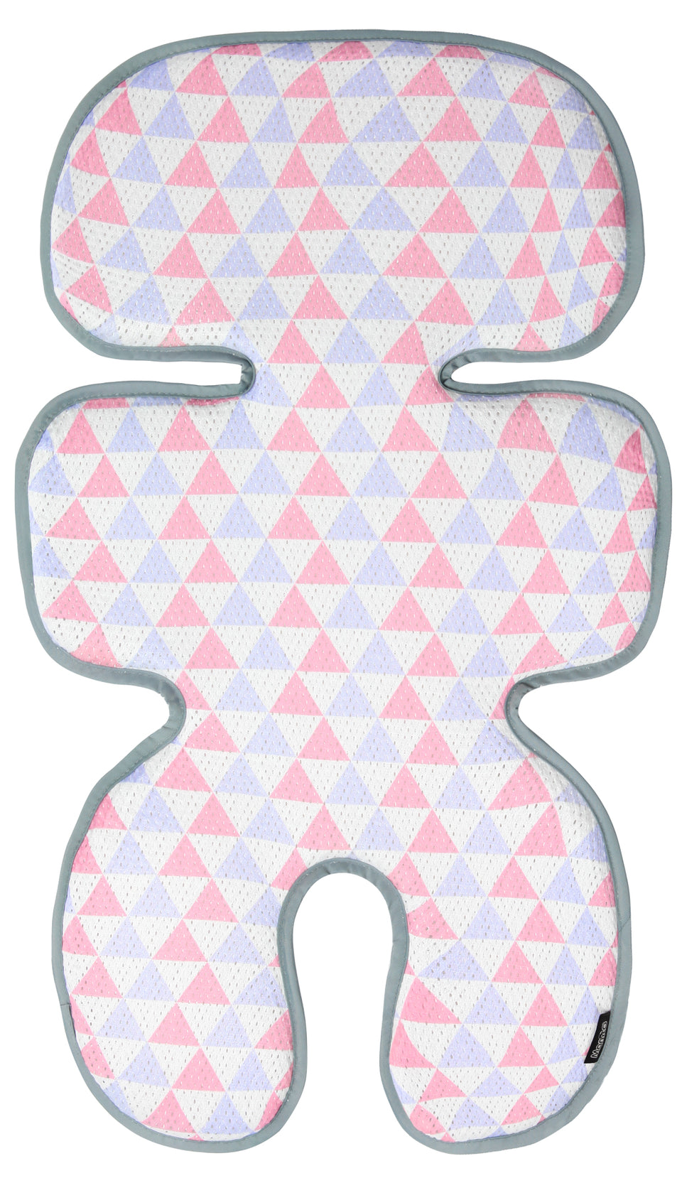 Clean Basic Cool Seat Pad (Triangle Pink/Purple)