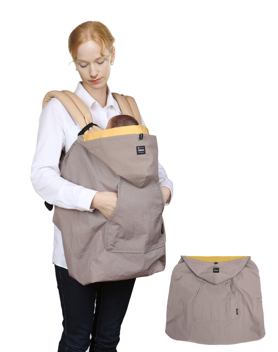 Wind-Ban Baby Carrier Windbreaker (Beige)