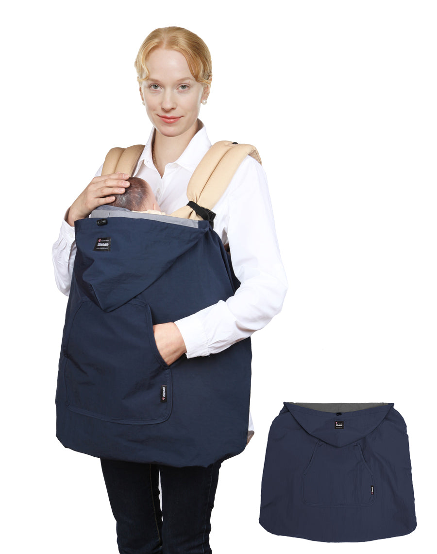 Wind-Ban Baby Carrier Windbreaker (Navy)