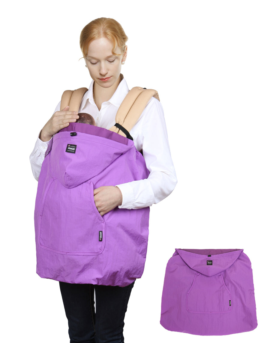 Wind-Ban Baby Carrier Windbreaker (Purple)
