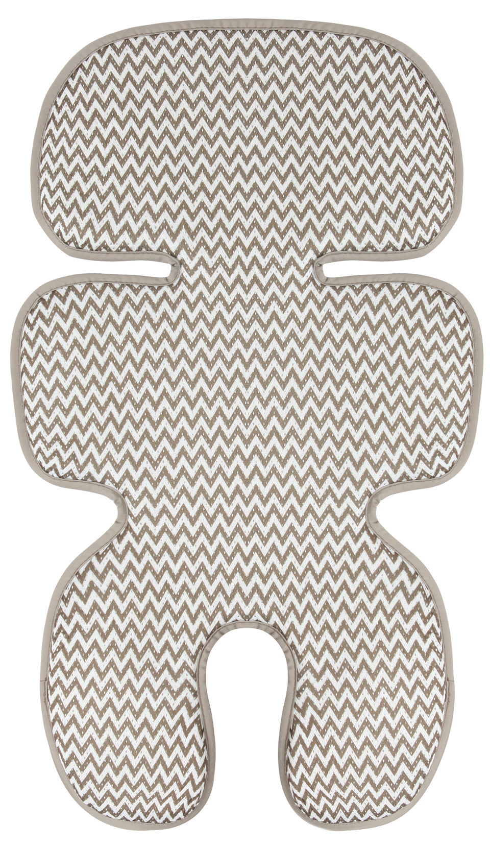 Clean Basic Cool Seat Pad (Zigzag Beige)