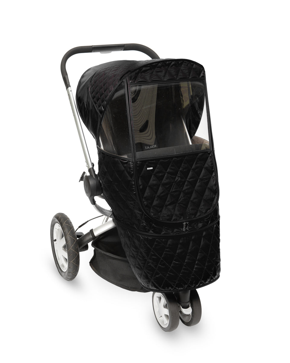 Castle Beta Stroller Weather Shield (Black)