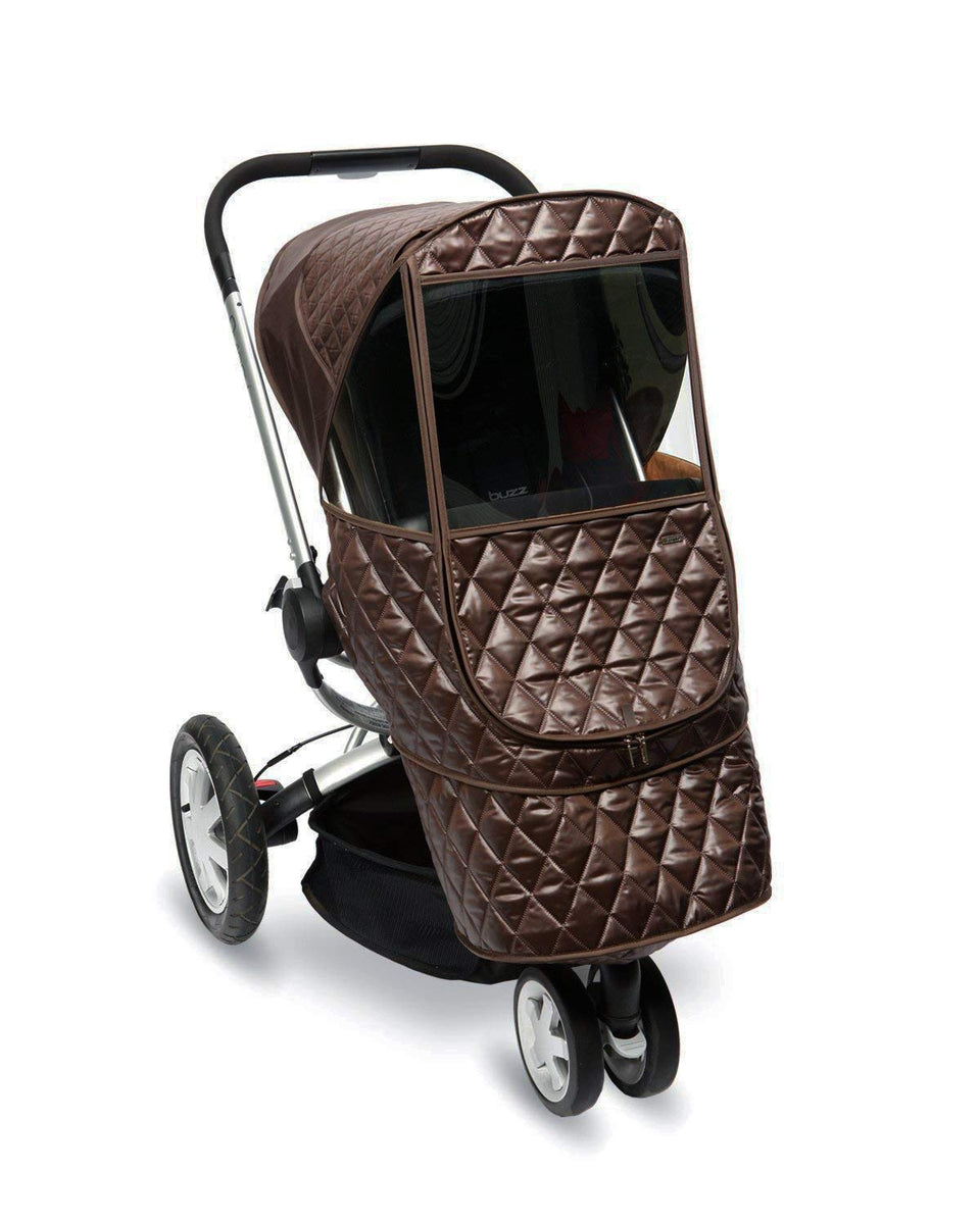 Castle Beta Stroller Weather Shield (Chocolate)
