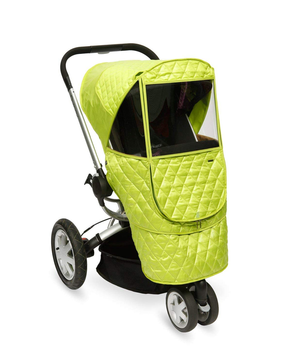 Castle Beta Stroller Weather Shield (Green)