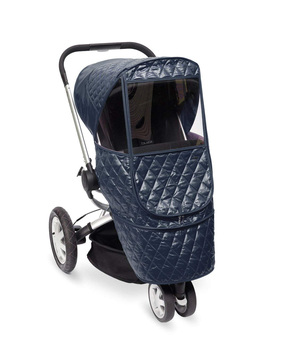 Castle Beta Stroller Weather Shield (Navy)