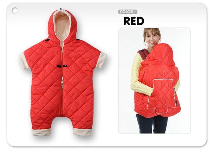Duplex Infant Winter Suit (Red)