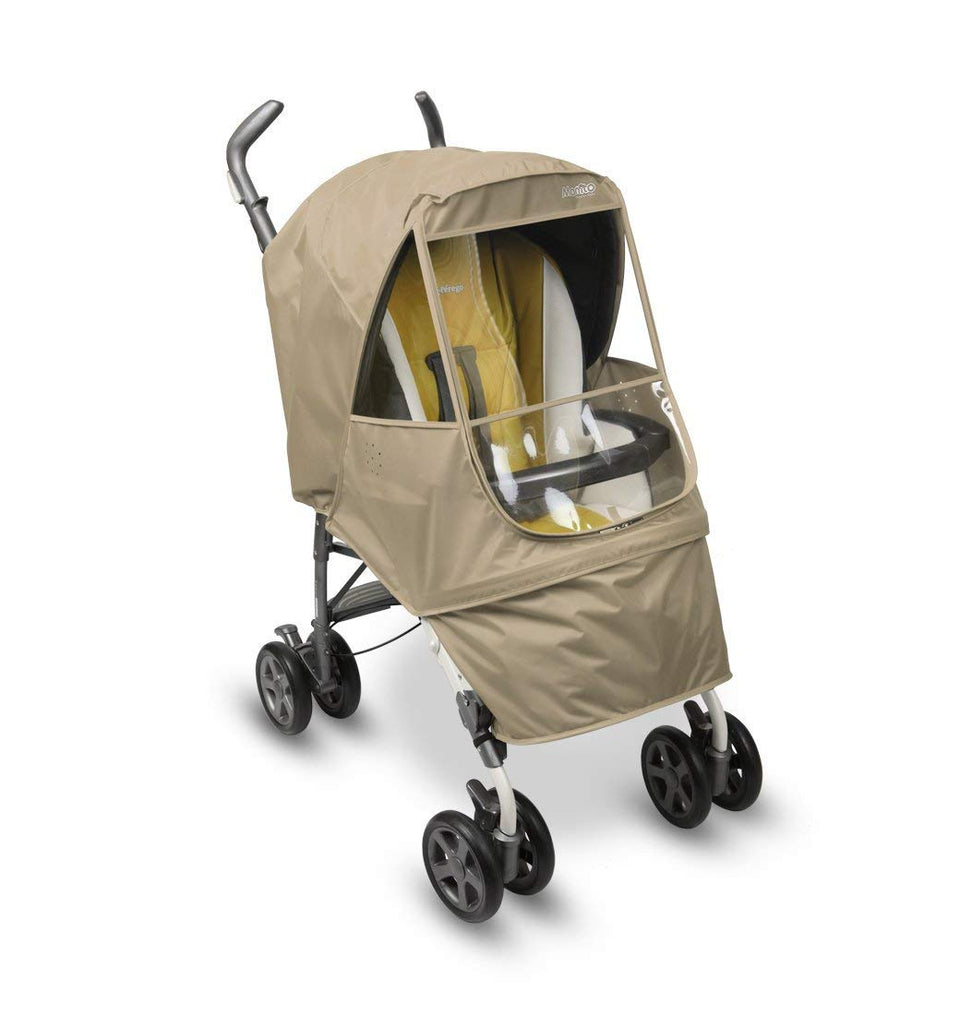Elegance Alpha Stroller Weather Shield (Beige)