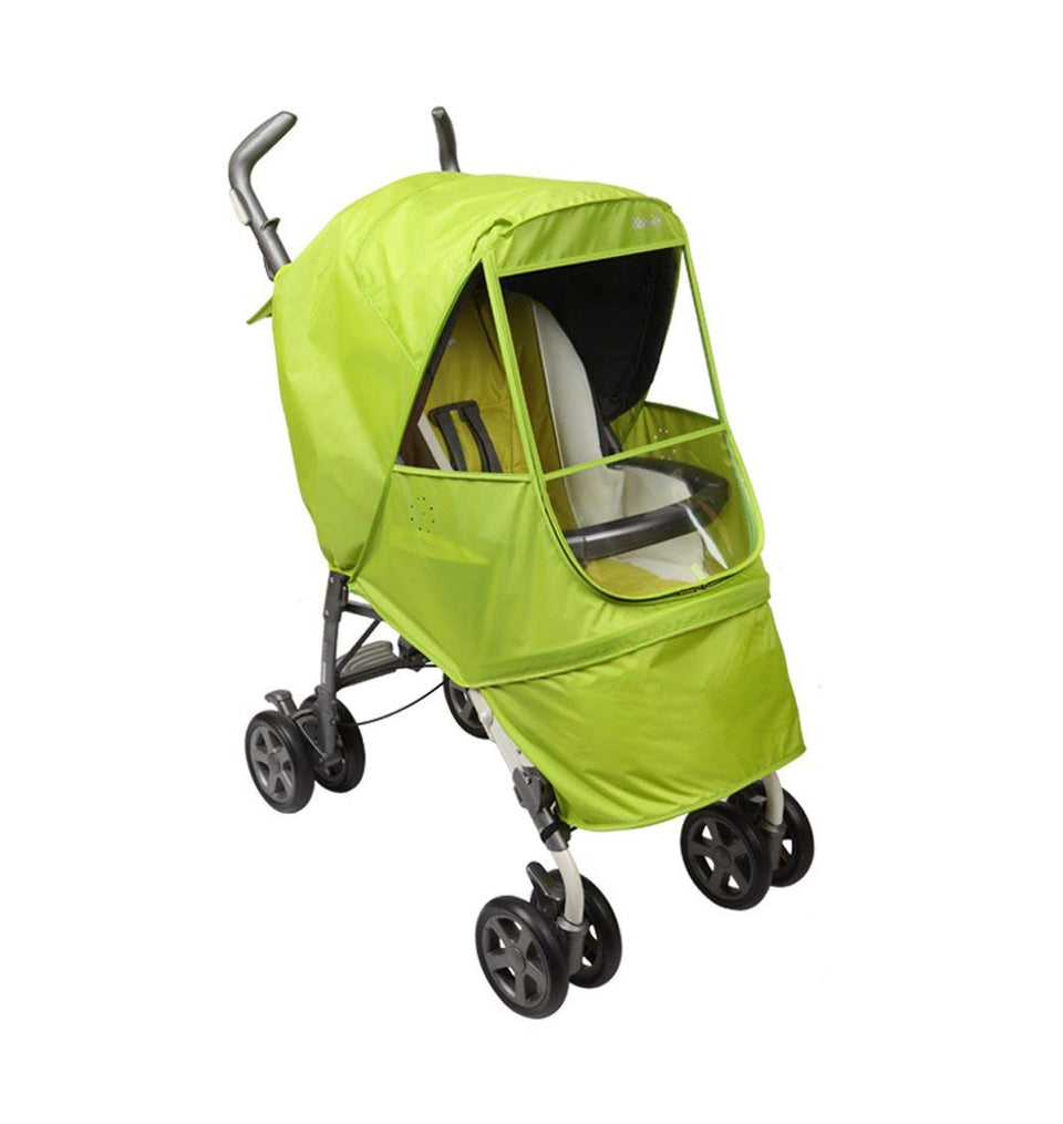 Elegance Alpha Stroller Weather Shield (Green)