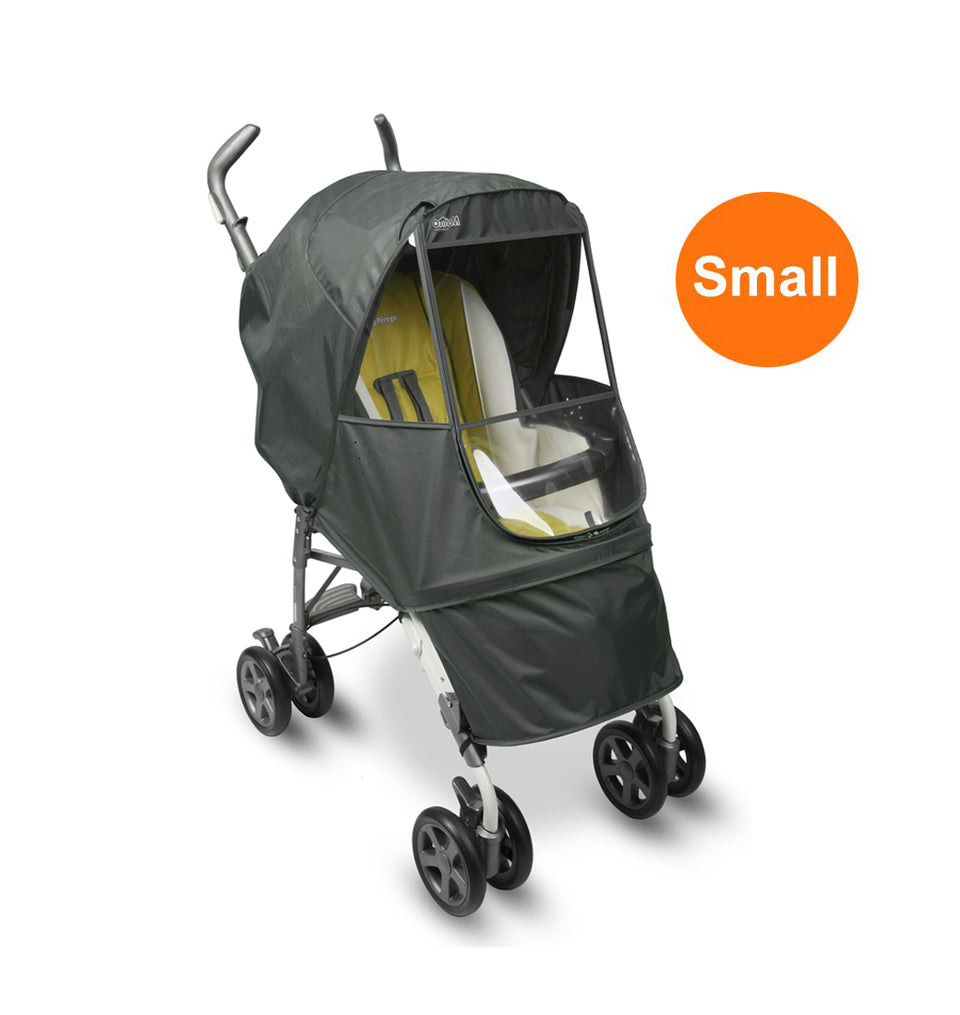 Elegance Alpha Stroller Weather Shield - Small (Grey)