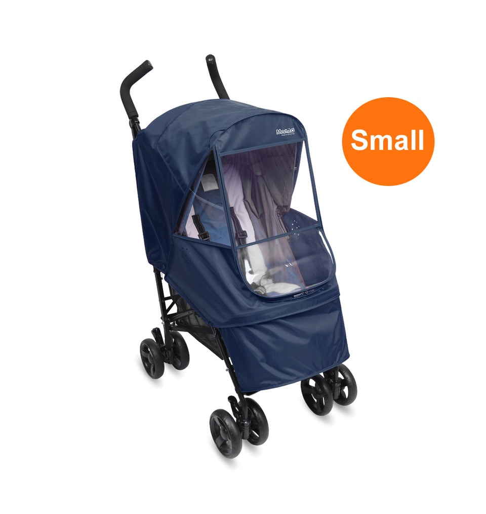 Elegance Alpha Stroller Weather Shield - Small (Navy)