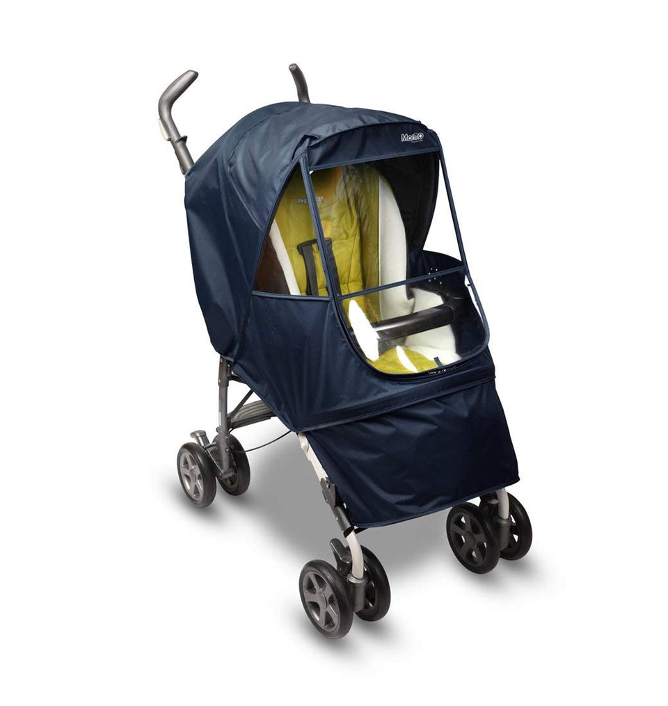 Elegance Alpha Stroller Weather Shield (Navy)