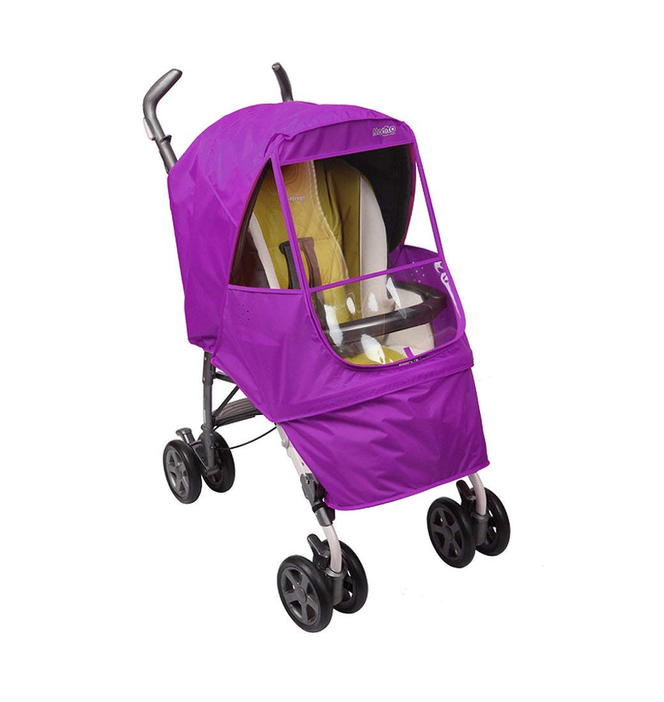 Elegance Alpha Stroller Weather Shield (Purple)