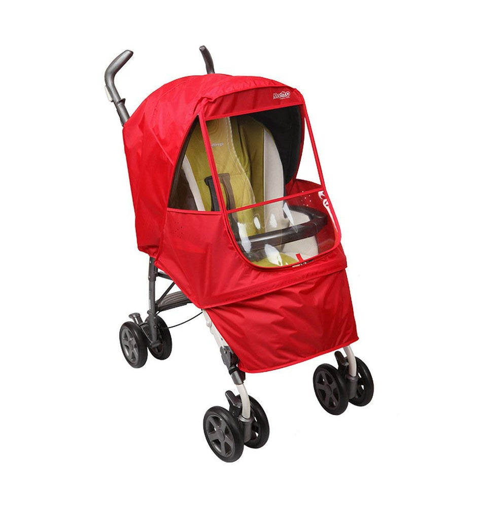 Elegance Alpha Stroller Weather Shield (Red)