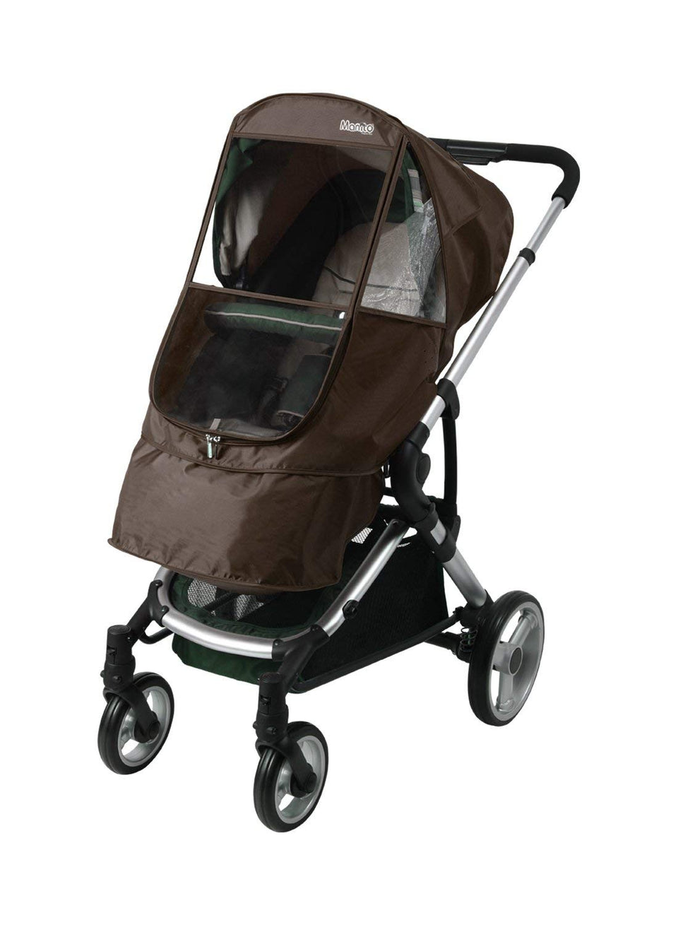 Elegance Beta Stroller Weather Shield (Chocolate)