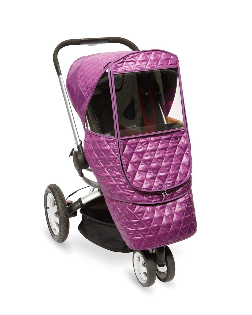 Castle Beta Stroller Weather Shield (Purple)