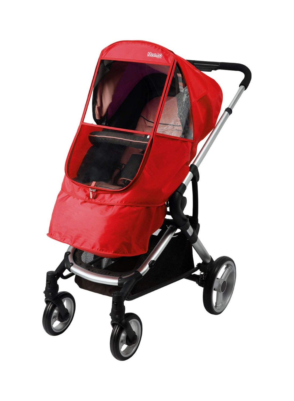 Elegance Beta Stroller Weather Shield (Red)