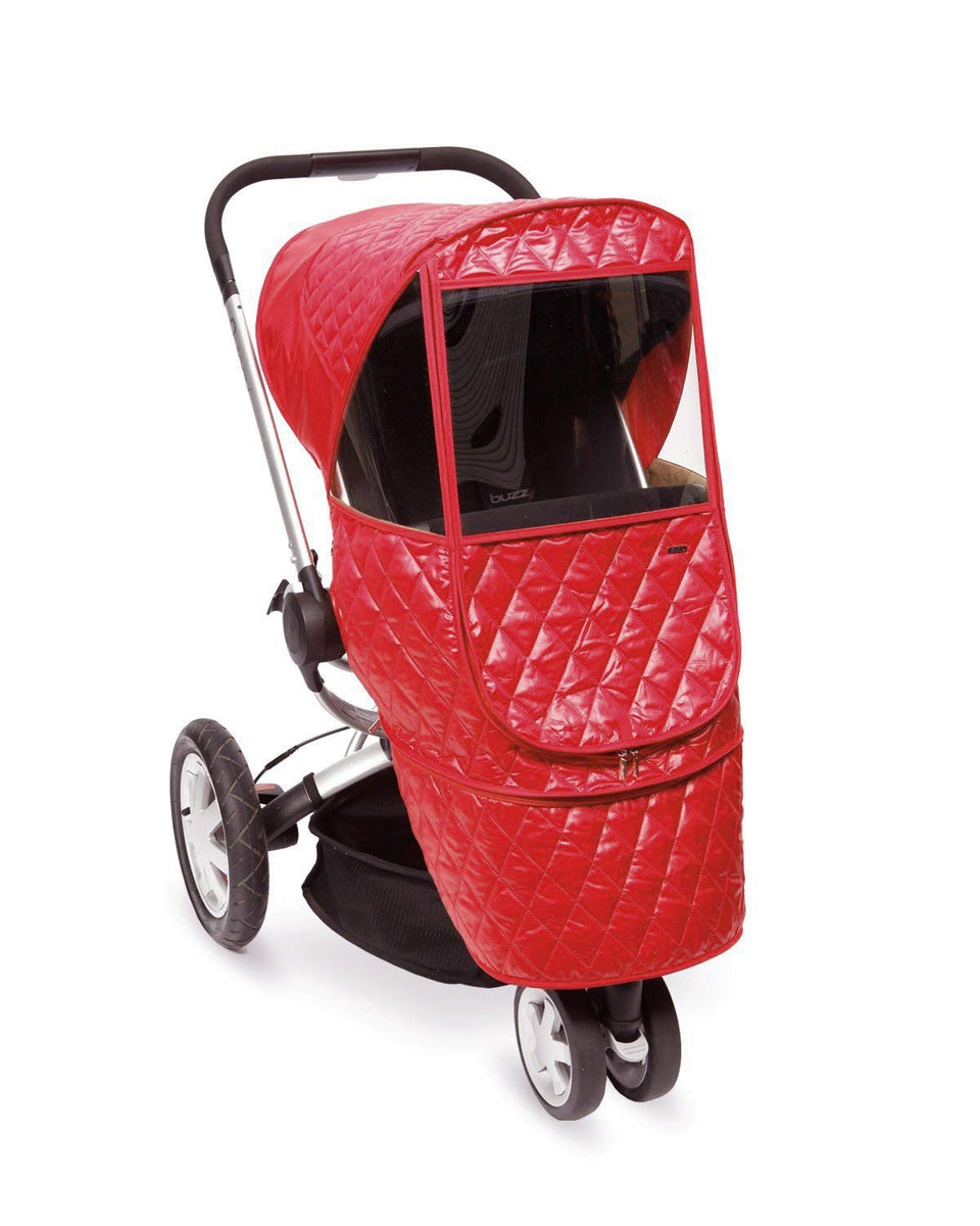 Castle Beta Stroller Weather Shield (Red)