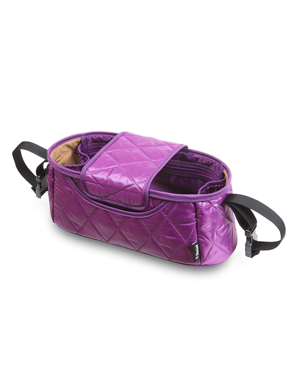 Handy Stroller Organizer (Purple/Diamond)