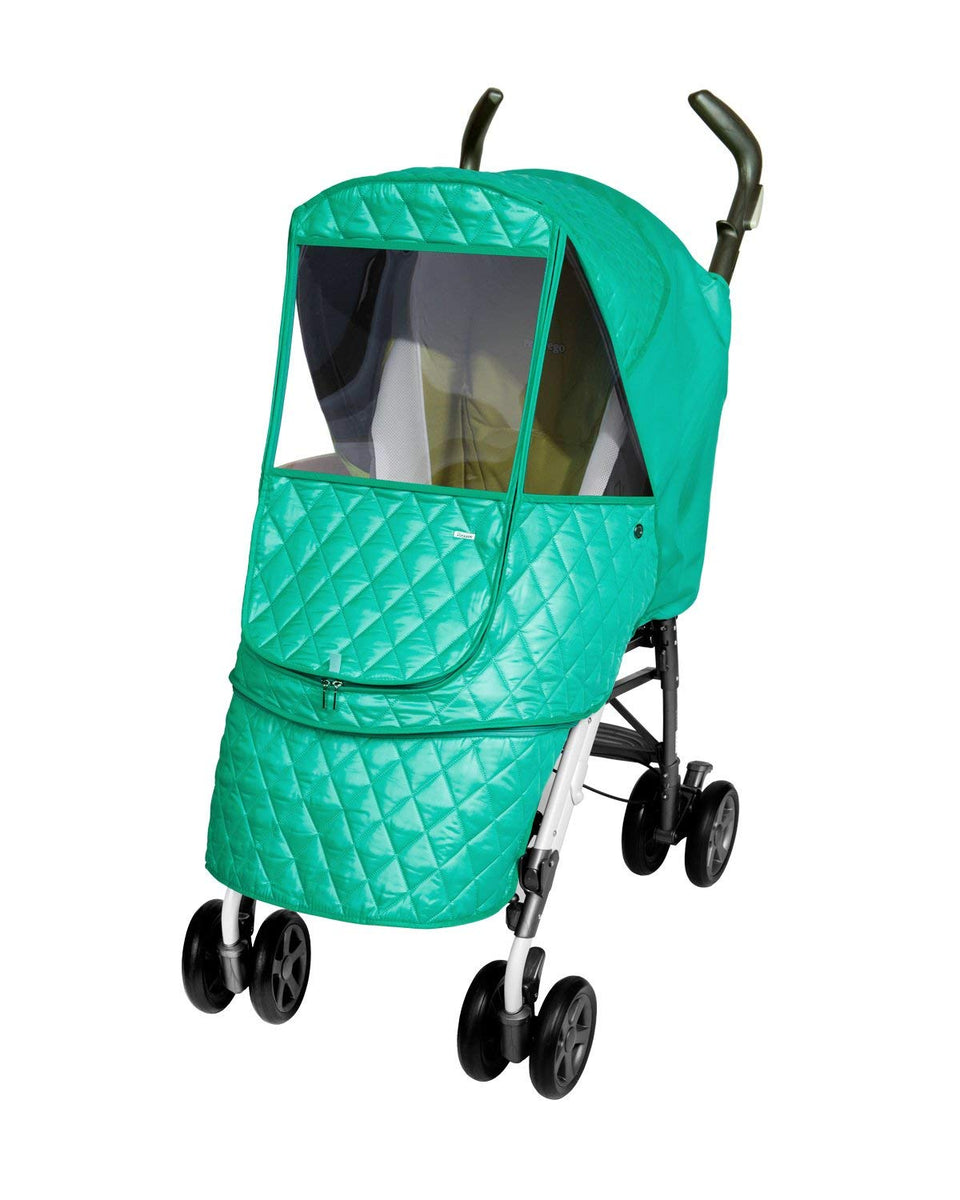 Castle Alpha Stroller Weather Shield (Blue)