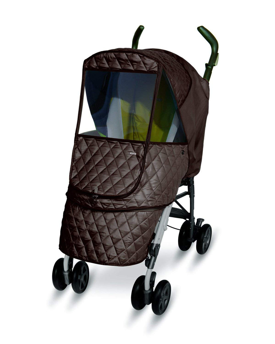 Castle Alpha Stroller Weather Shield (Chocolate)