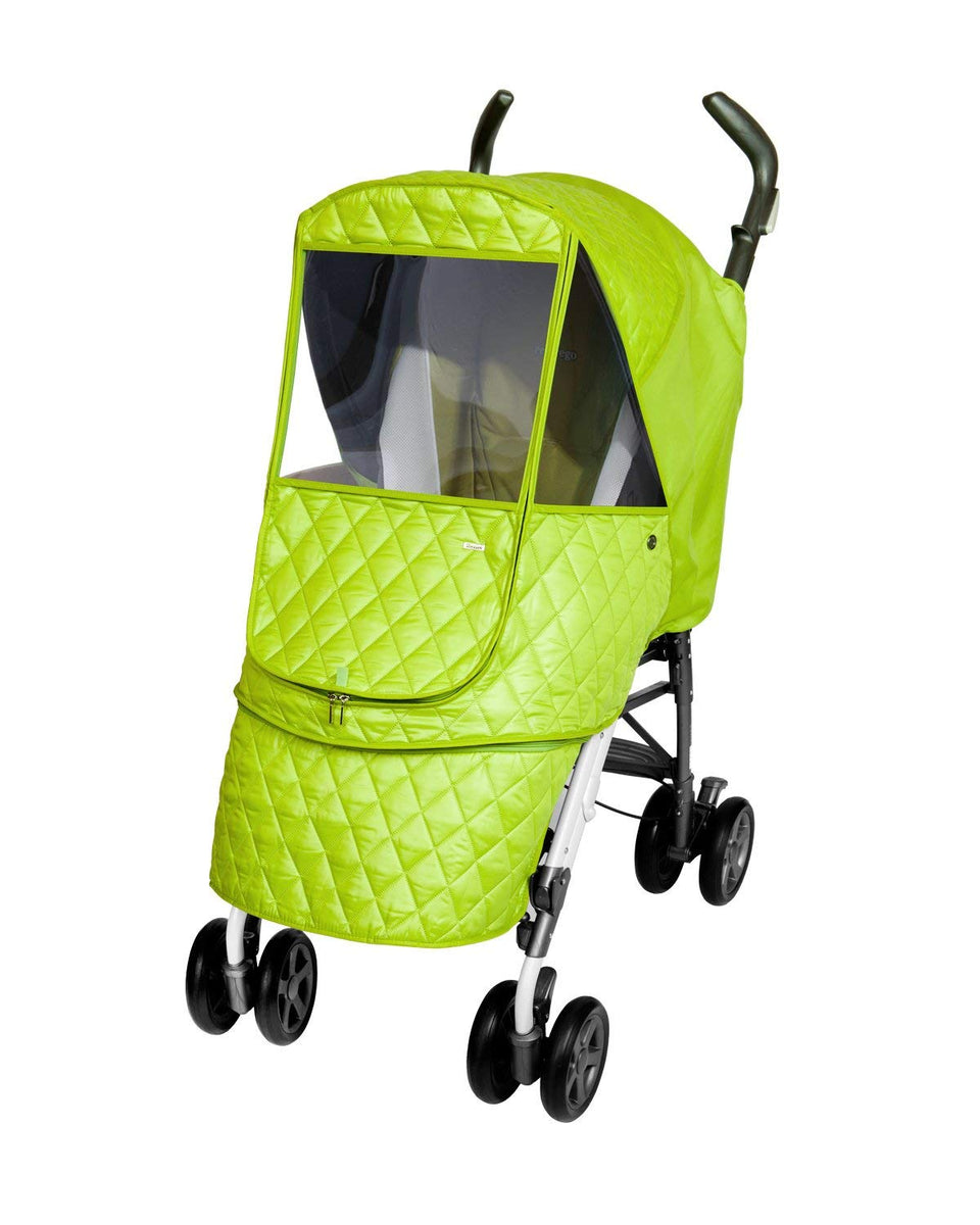 Castle Alpha Stroller Weather Shield (Green)