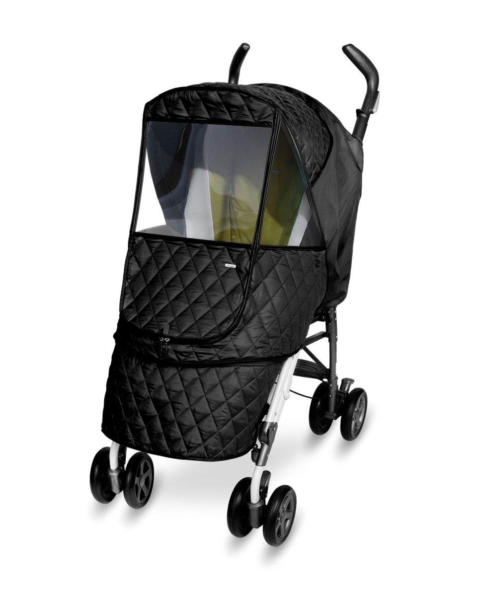 Castle Alpha Stroller Weather Shield (Black)