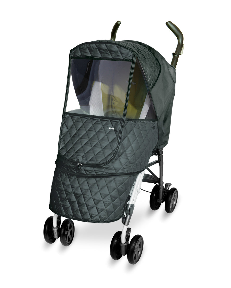 Castle Alpha Stroller Weather Shield (Khaki Grey)