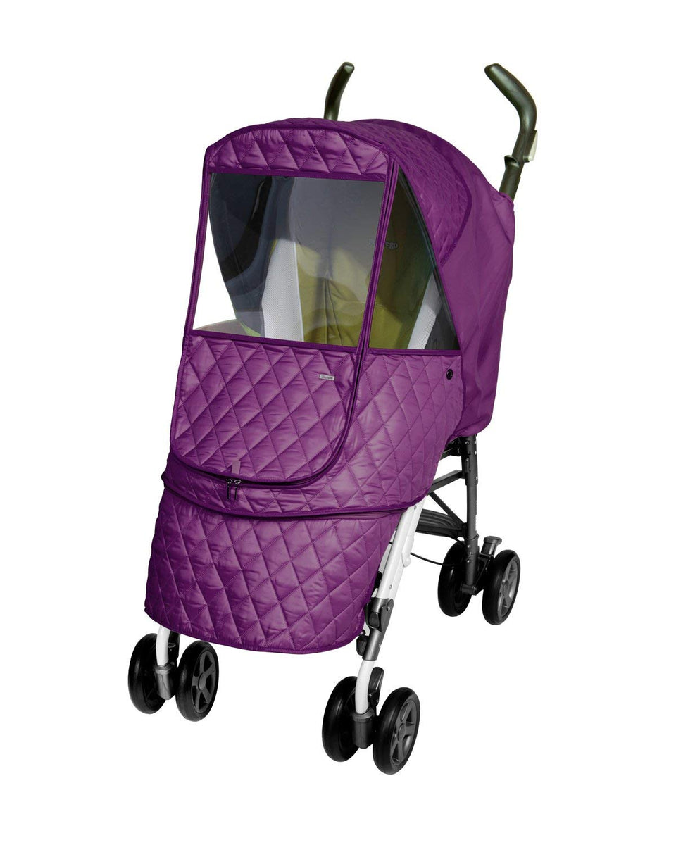 Castle Alpha Stroller Weather Shield (Purple)