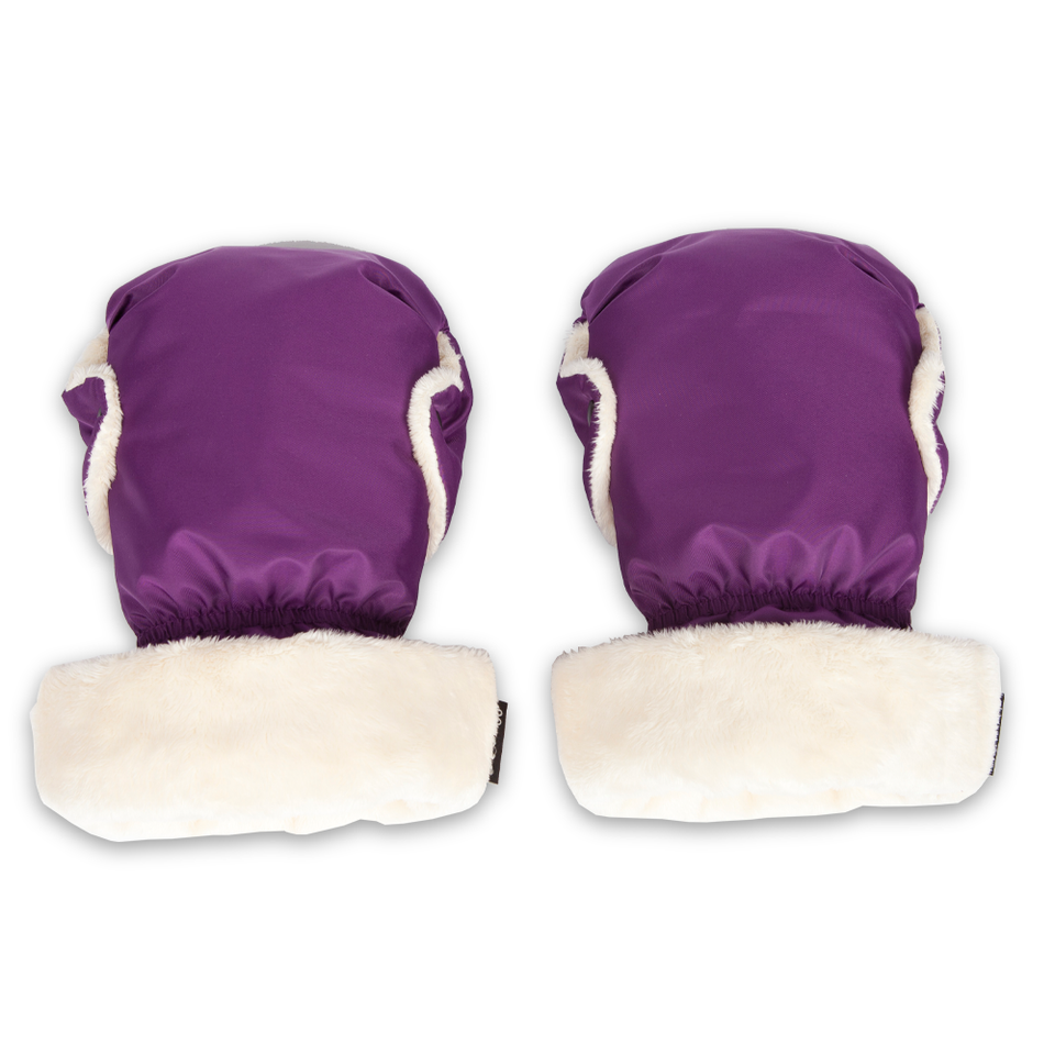 Cozy Stroller Hand Muff (Purple)