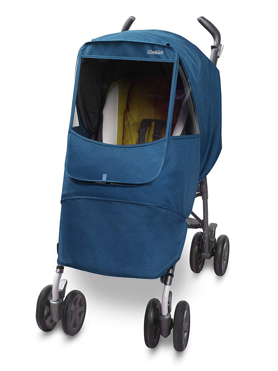 Melange Alpha Stroller Weather Shield (Blue)