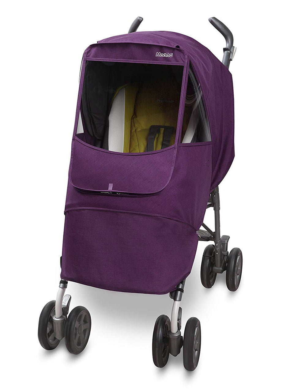 Melange Alpha Stroller Weather Shield (Purple)