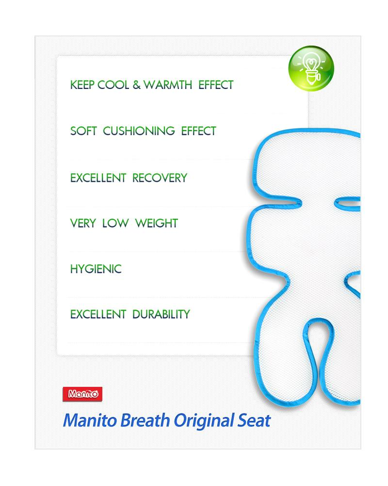 Breath Original Seat Pad (Black)