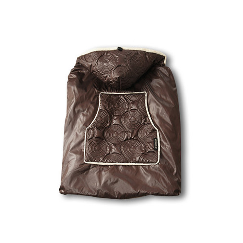 Shiny Skin Infant Carrier Warmer (Chocolate)