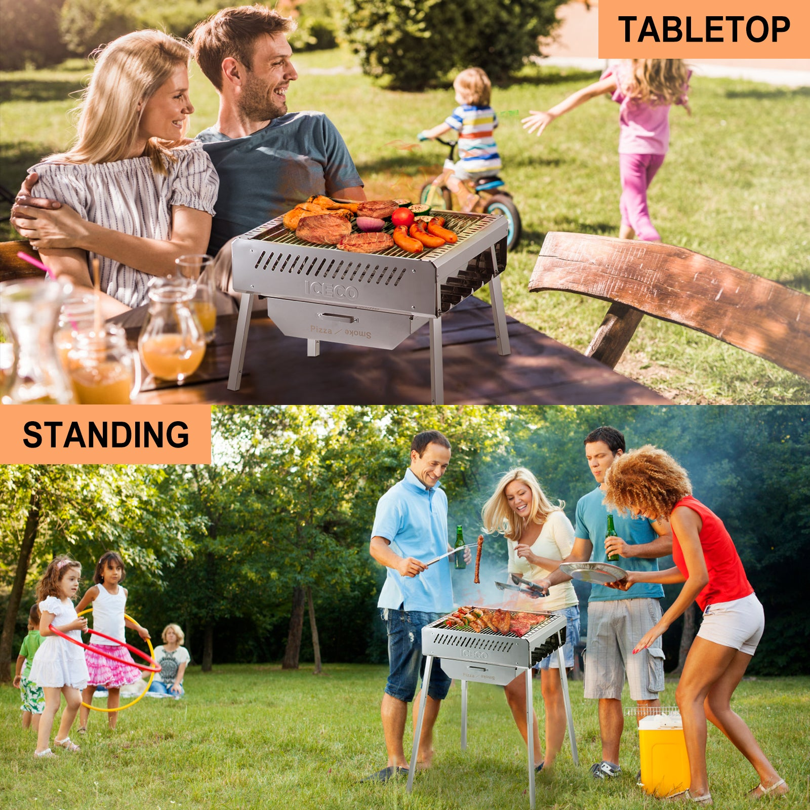 47.6QT VL45 Portable Refrigerator Fridge | ICECO-Portable Fridge-www.icecofreezer.com