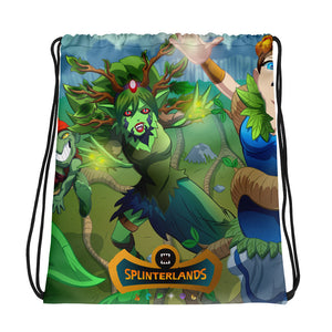 Splinterlands: Earth Team Drawstring bag