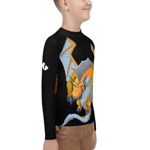 Splinterlands: Gold Dragon  Youth Rash Guard
