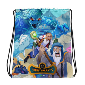 Splinterlands: Water Team Drawstring bag