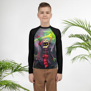 Splinterlands: Death Team Youth Rash Guard