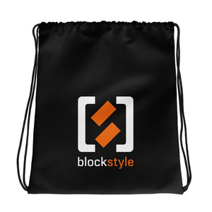 Blockstyle Drawstring bag