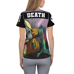 Splinterlands: Death Team Unleashed All-Over Print Women's Athletic T-shirt
