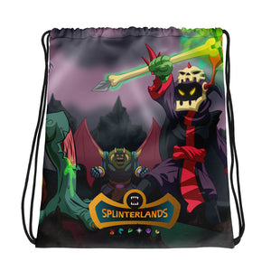 Splinterlands: Death Team Drawstring bag