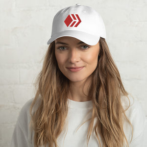 Hive White Dad hat