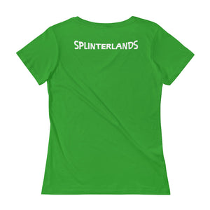 Splinterlands Magic + Mayhem Ladies' Scoopneck T-Shirt