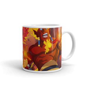Splinterlands:  Fire Team Mug