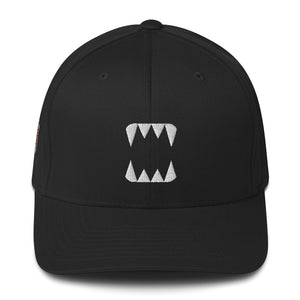 Splinterlands Monster Teeth Structured Fitted Flex Cap