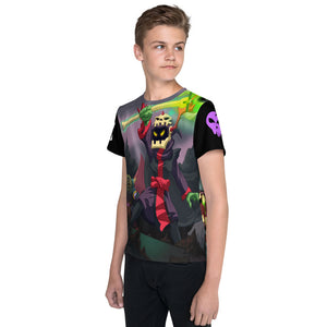 Splinterlands Death Team All Over Youth T-Shirt