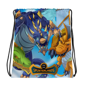 Splinterlands: Dragon Team Drawstring bag