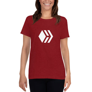 Hive Women's short sleeve red t-shirt