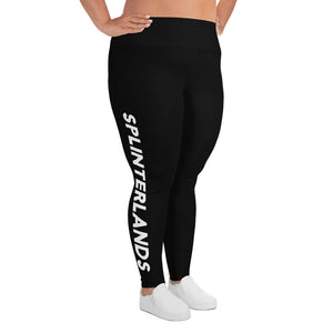 Splinterlands All-Over Print Plus Size Leggings