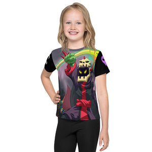 Splinterlands Death Team All Over Kids T-Shirt
